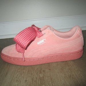 Puma Suede Heart Kid's Shoes